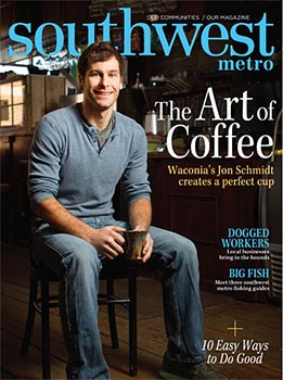 Jon Schmidt on cover of Southwest Metro